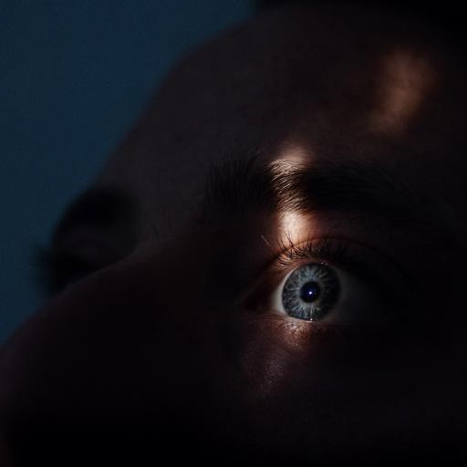 欧美 型男 眼睛 瞳孔 特写