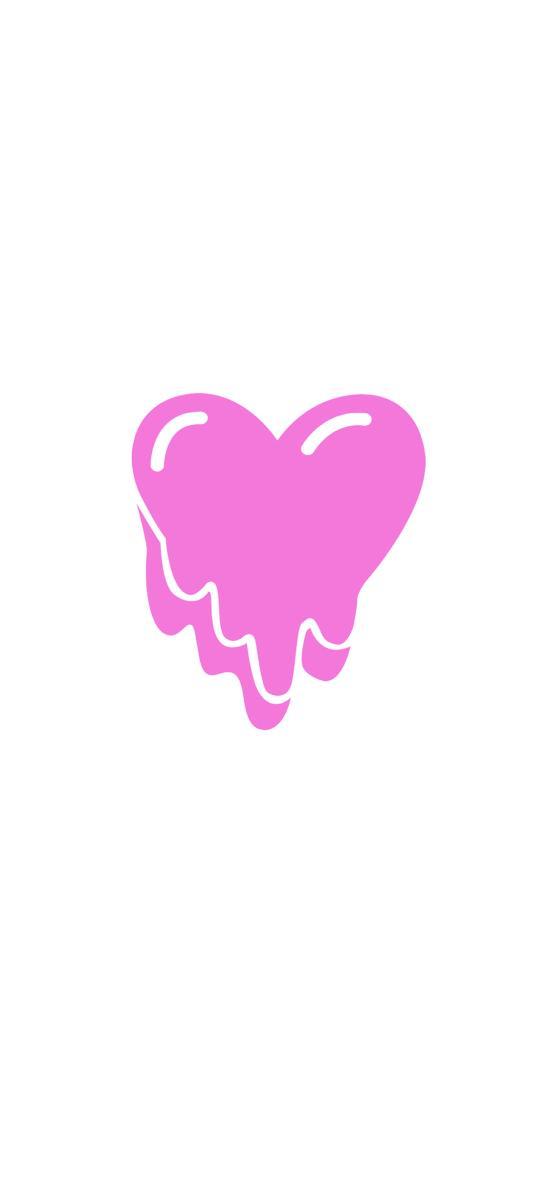 爱心 粉色 融化 爱情 心形