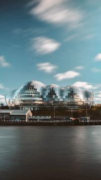 蓝天白云 建筑 设计 城市
