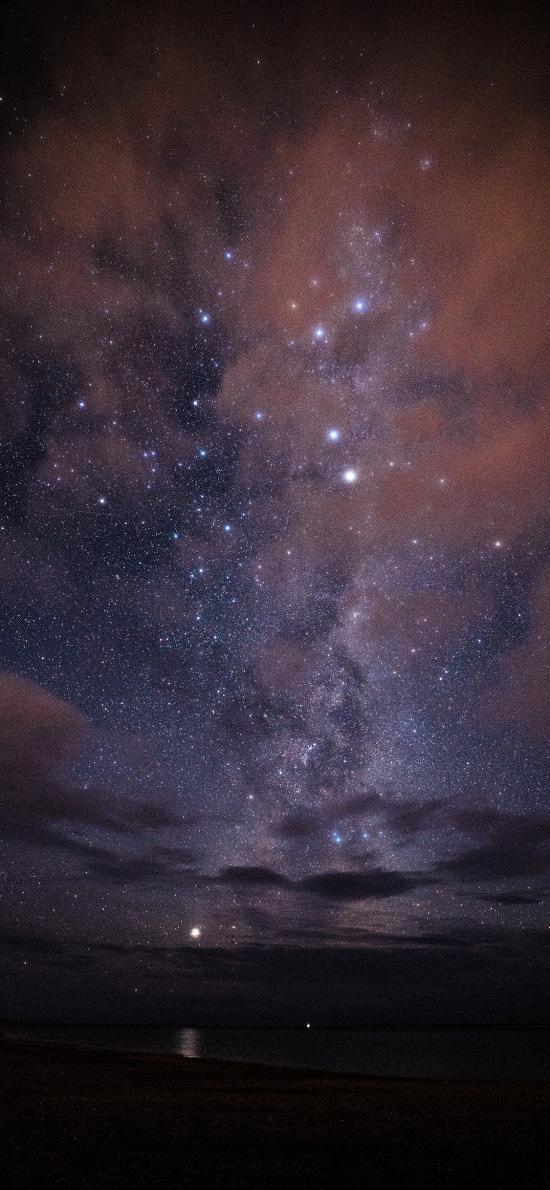 夜景 星空 繁星 梦幻