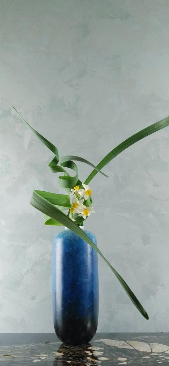 插画 花艺 花瓶 鲜花
