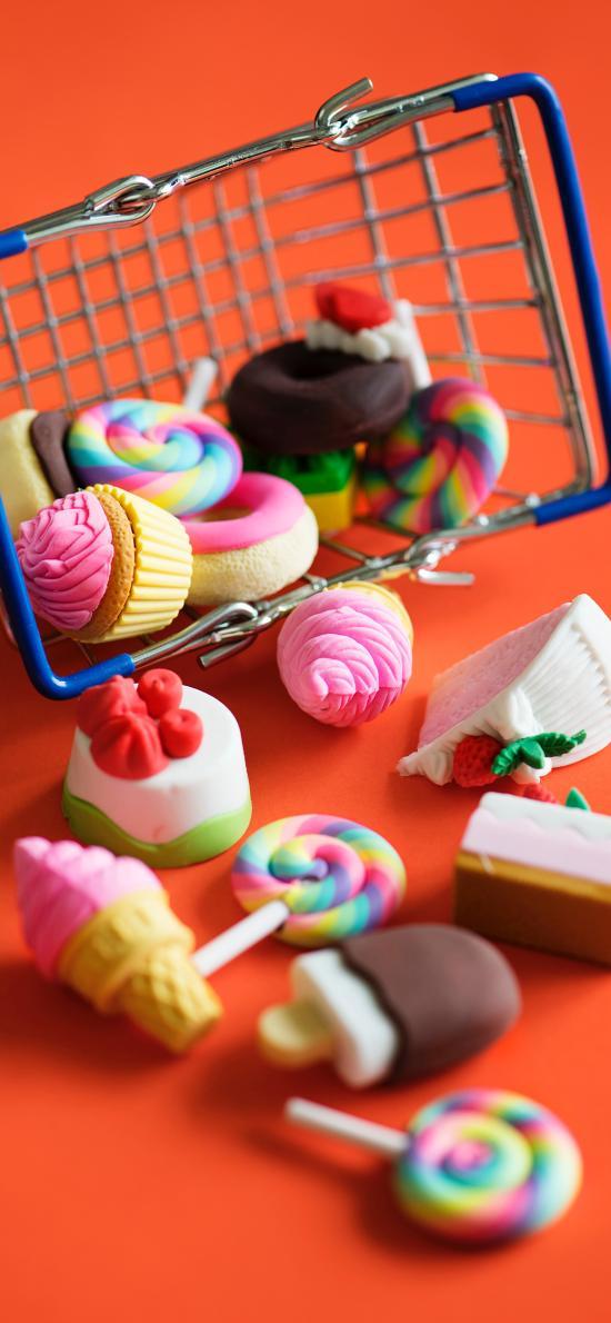 模具 糖果 小巧 色彩