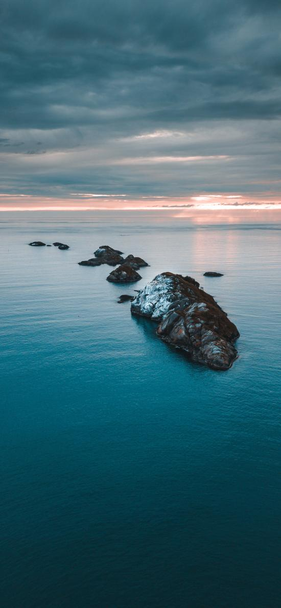 島嶼 大海 海島 藍色