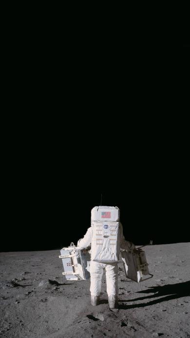 太空人 宇航员 月球 黑白 探索