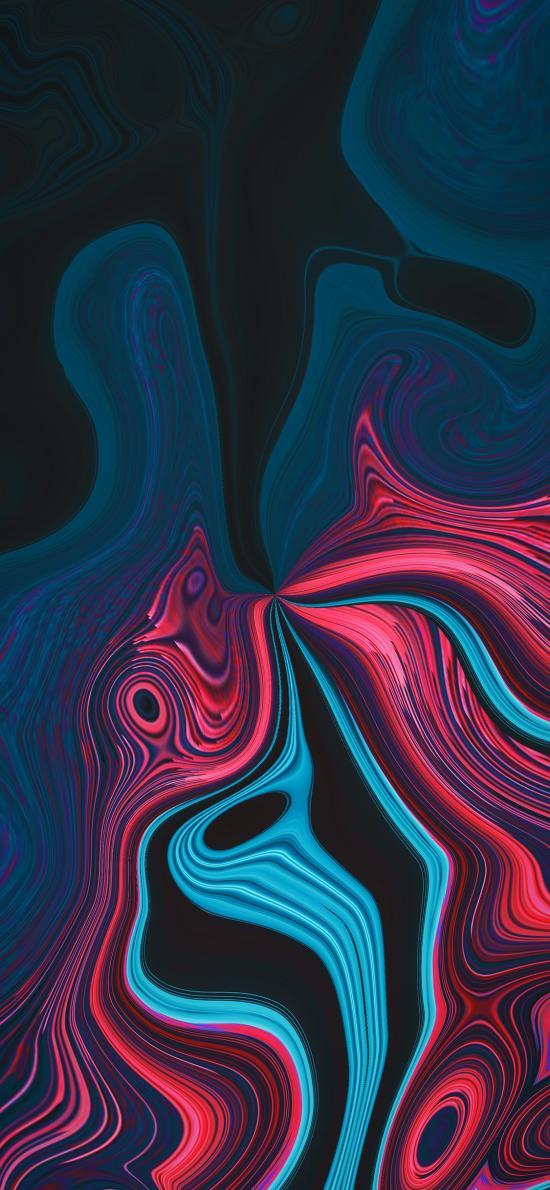 曲线 流动 抽象 线条