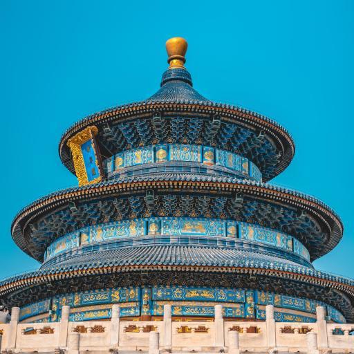 天坛 天空 景色 景点 地标 北京