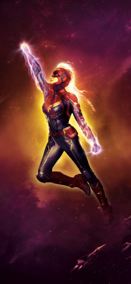 惊奇队长 电影 超级英雄 海报 漫威 欧美