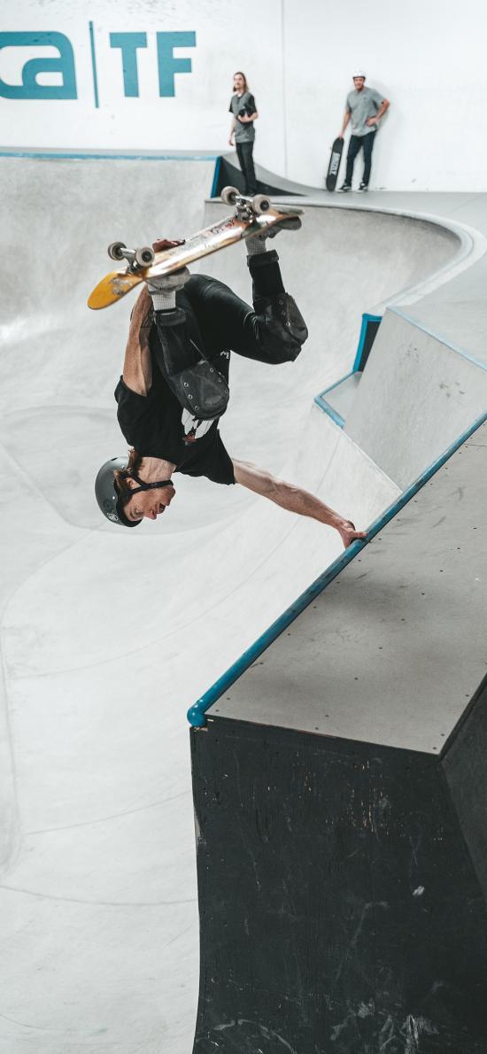 滑板 竞技 场地 杂技