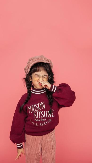 童模 写真 表情 小女孩 可爱