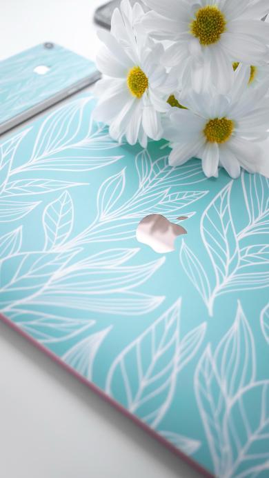 笔记本 贴膜 小清新 雏菊 鲜花