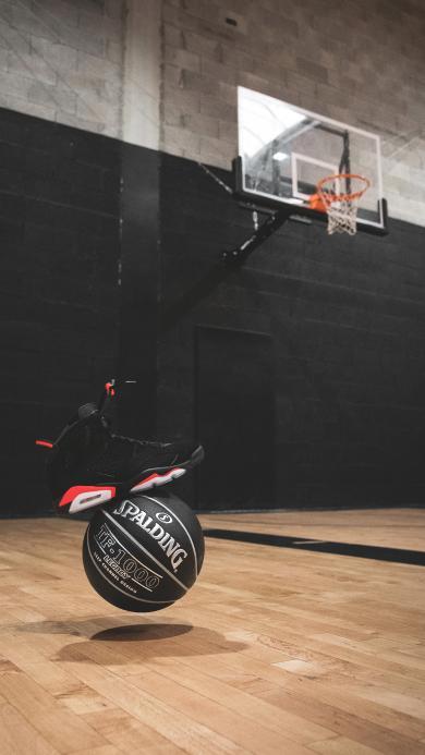 篮球 运动场 球鞋 球框