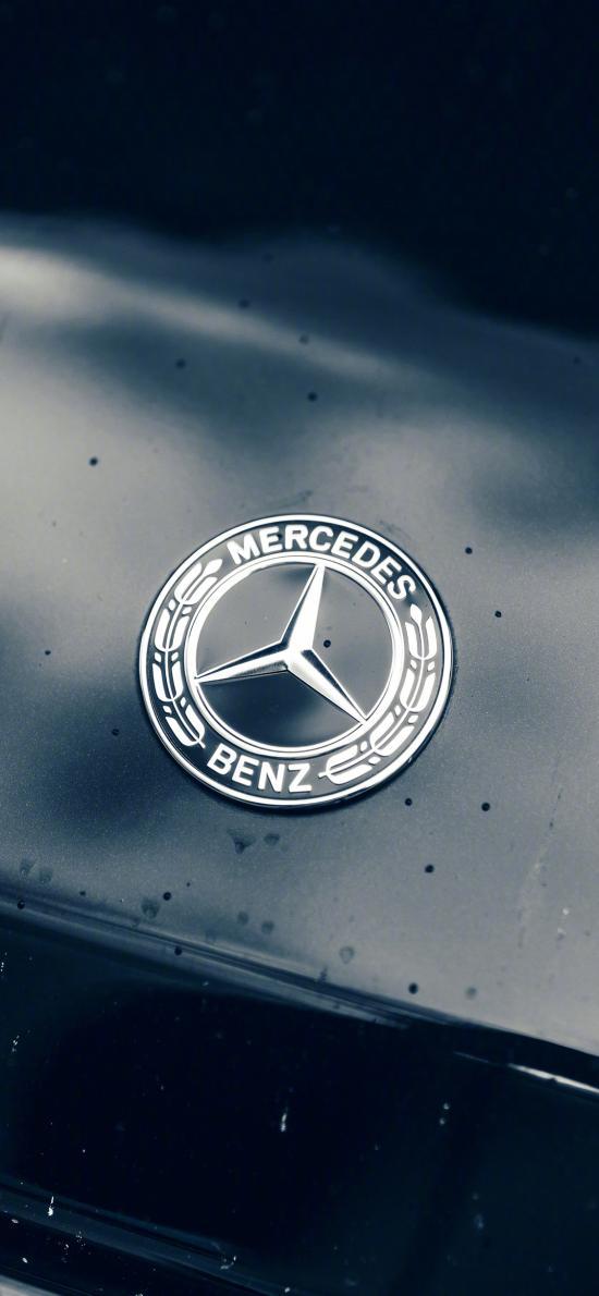 奔驰 车标 标志 logo