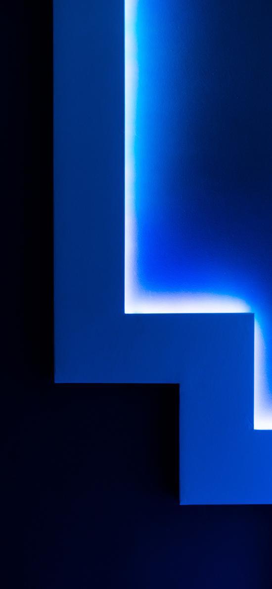 幾何 圖形 藏光燈 漸變