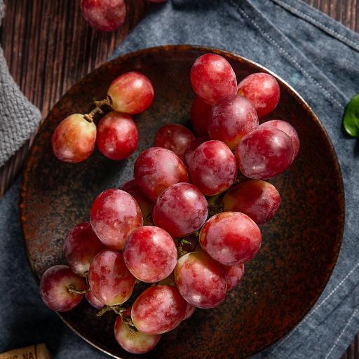 水果 新鲜 葡萄 红提