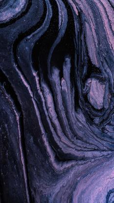 流动 抽象 紫色 线条 液体