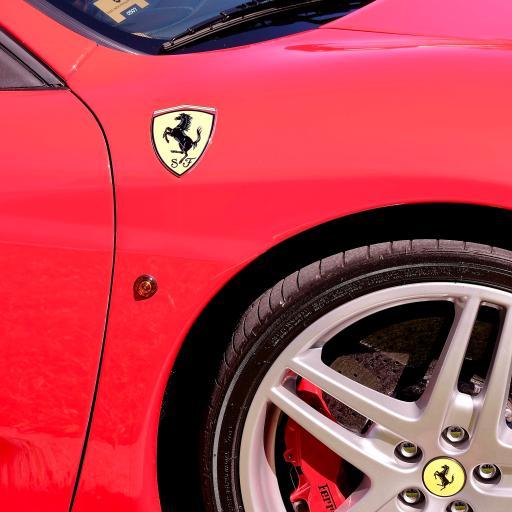 法拉利 跑车 logo 轮胎