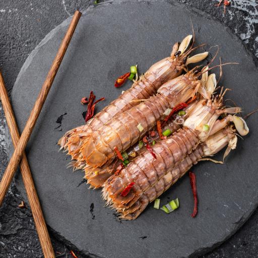 海鲜 皮皮虾 濑尿虾 烹饪