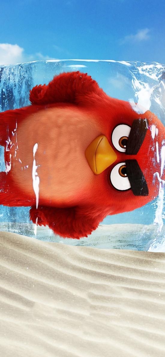 愤怒的小鸟2 胖红 动画 电影 海报