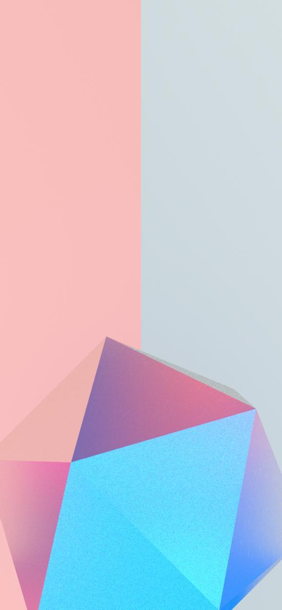 几何 形状 立体 渐变