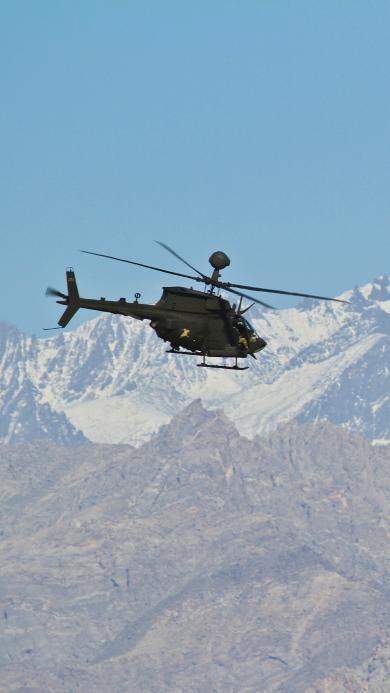直升机 飞机 飞行 雪山 航空