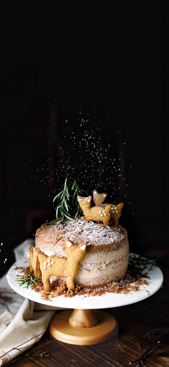 烘焙 甜品 蛋糕 饼干 猫咪造型