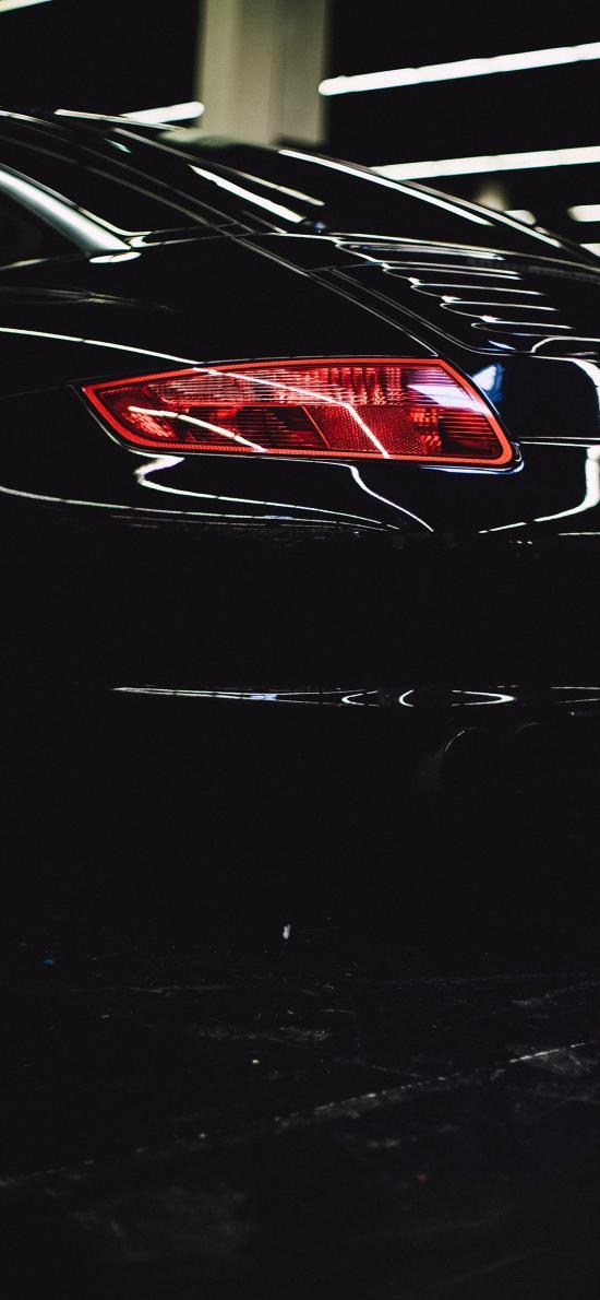 汽车 黑色 车灯 交通工具
