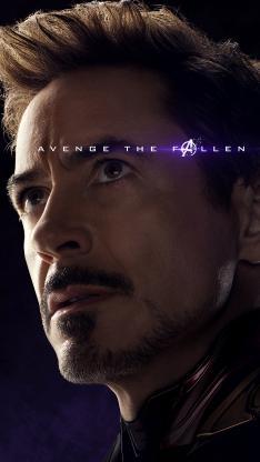 钢铁侠 复仇者联盟4 终局之战 电影 欧美 超级英雄 海报