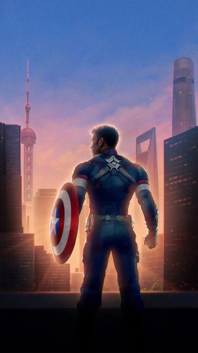 美国队长 复仇者联盟4 终局之战 电影 欧美 超级英雄