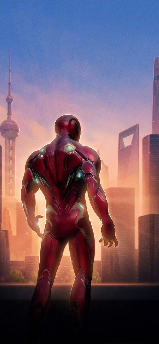 钢铁侠 复仇者联盟4 终局之战 电影 欧美 超级英雄