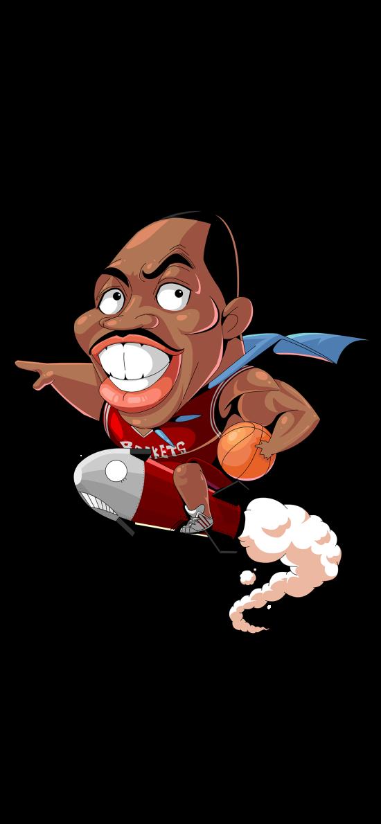 霍华德 篮球 运动员 卡通
