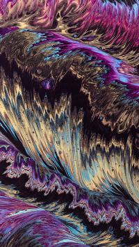 系统 色彩 渲染 紫色