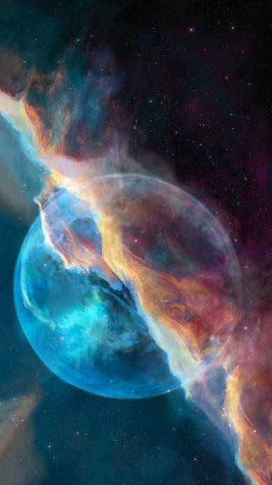 宇宙 太空 星云 梦幻 神秘