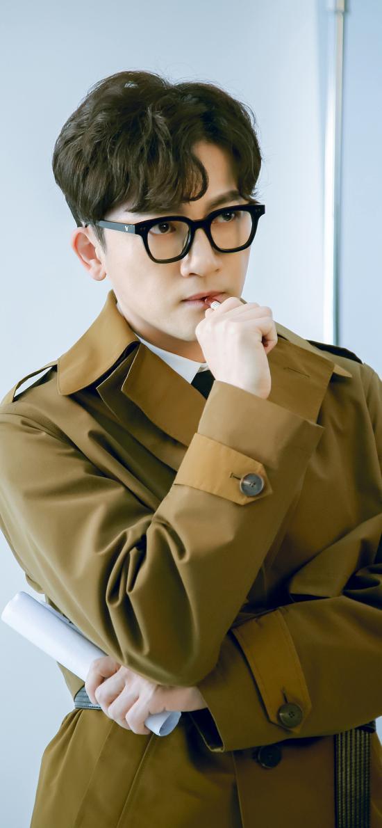 蘇有朋 臺灣 演員 歌手 小虎隊 黑框眼鏡