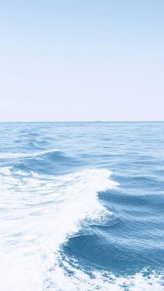 海浪 大海 蓝色 海洋 浪花