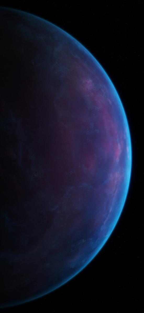 星球 宇宙 圆形 弧线