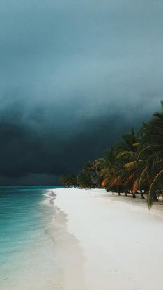 沙滩 海边 大海 海浪