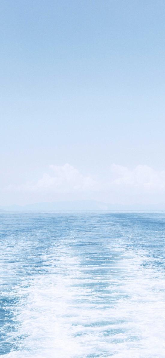 大海 海面 蓝色 海洋