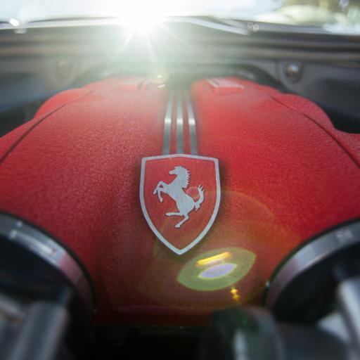 法拉利 车标 发动机 引擎 豪车