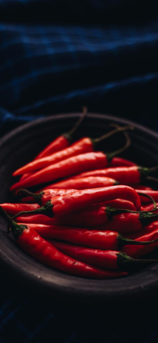 辣椒 新鲜 蔬菜 食材