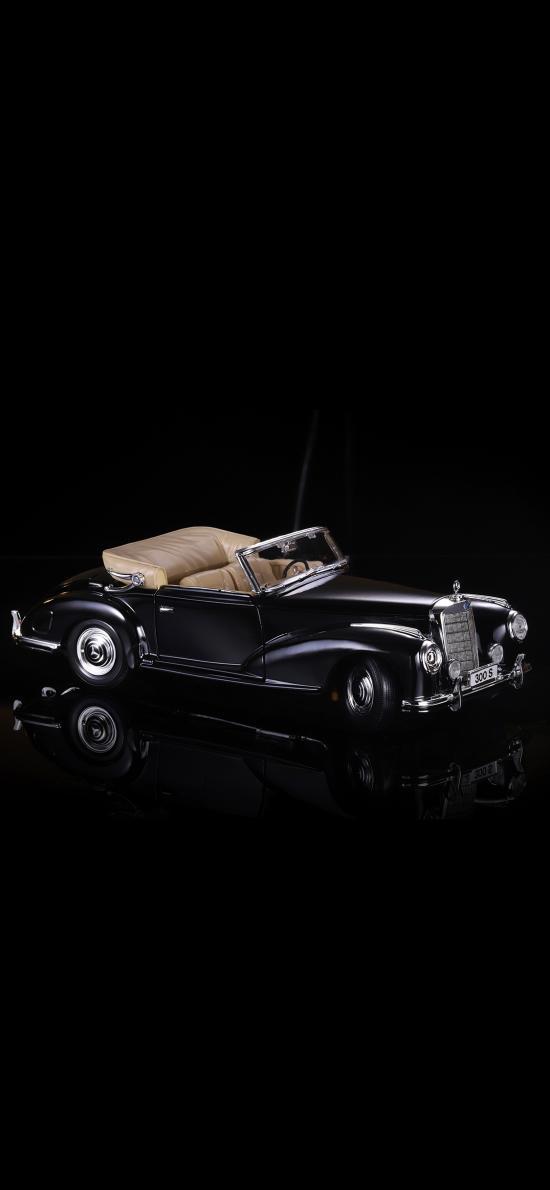 汽車 模型 奔馳 懷舊 老爺車