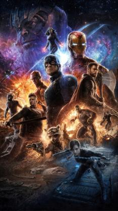 复仇者联盟4 终局之战 电影 海报 超级英雄