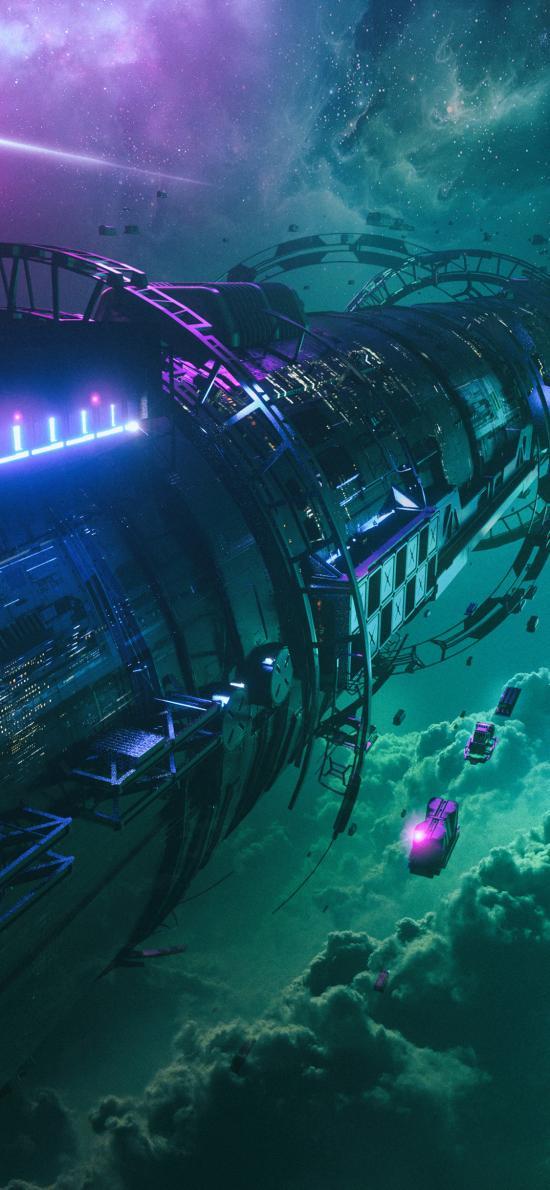 空间 科幻 宇宙 太空