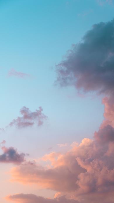 渐变 云层 云彩 天空