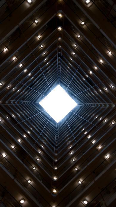 建筑 高楼 镂空 设计