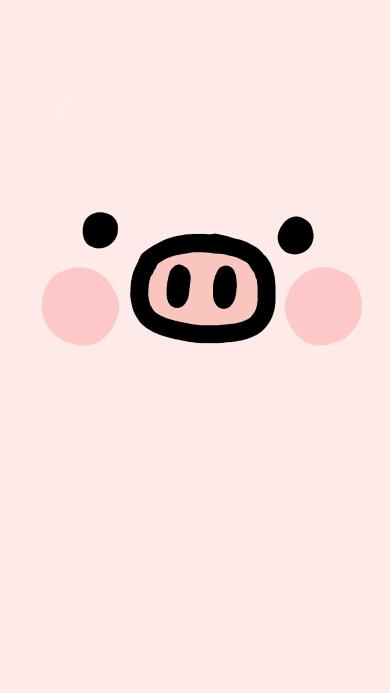 猪 鼻孔 粉色 可爱
