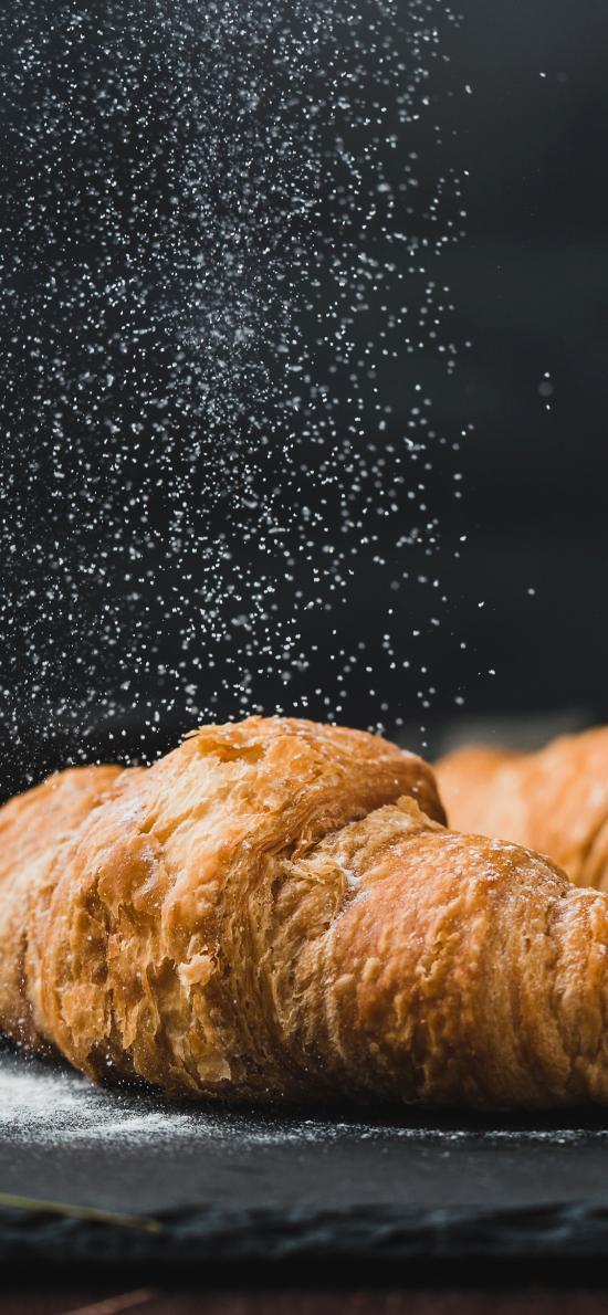 面包 面点 牛角包 可颂