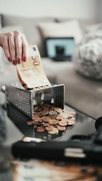 纸币 硬币 零钱 散钱