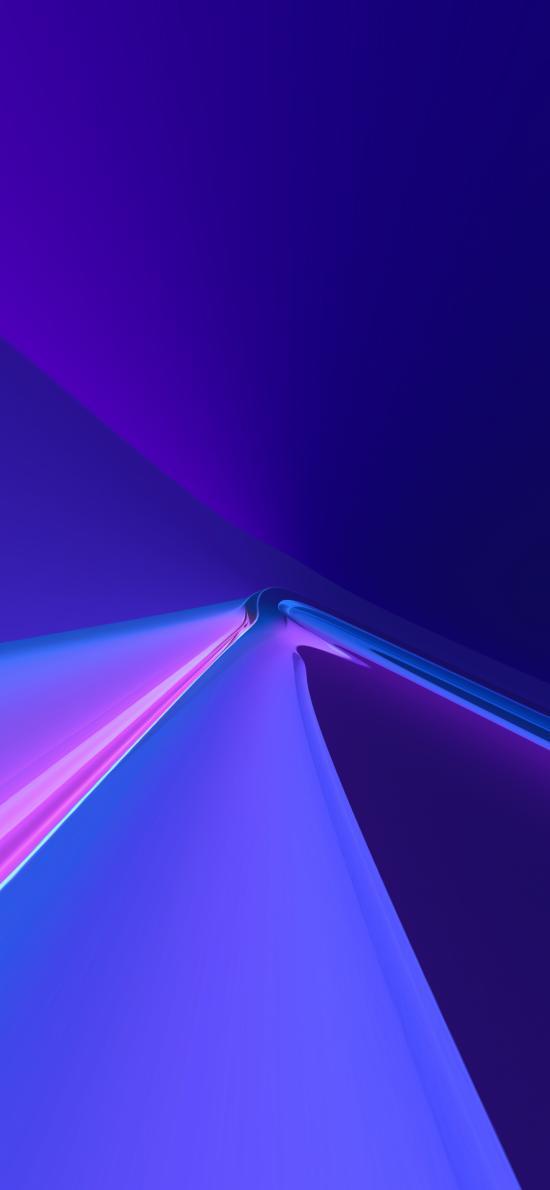 蓝色 抽象 简约 炫丽