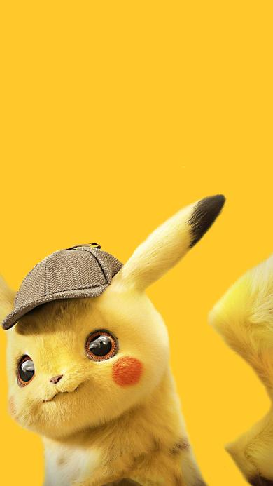 大侦探皮卡丘 电影 欧美 可爱 黄色