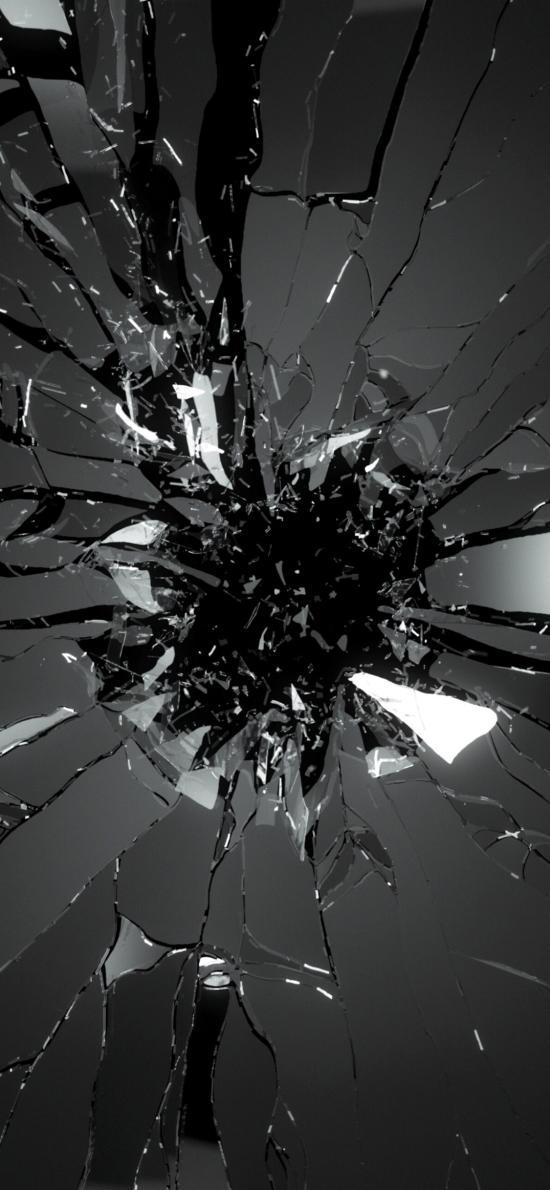 破碎屏幕动漫壁纸_iPhone XS Max创意壁纸_iPhone XS Max创意壁纸下载_iPhone XS Max创意壁纸 ...
